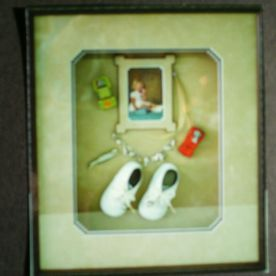 kids memories in a frame